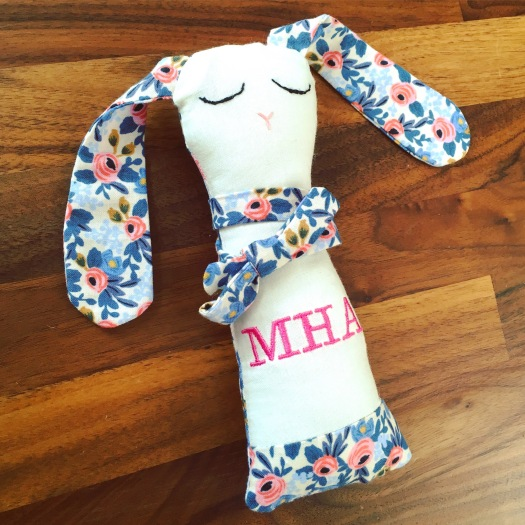 personalised rattle